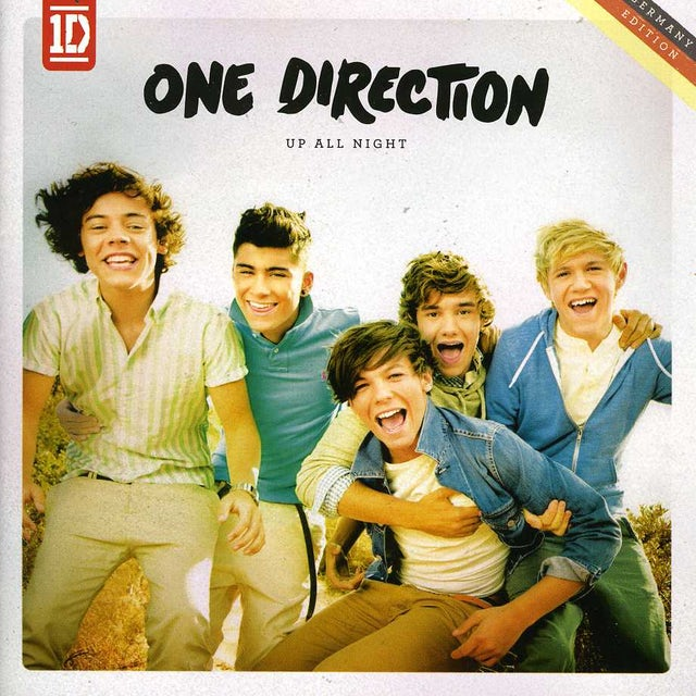 One Direction UP ALL NIGHT (GERMAN EDITION 16 TRACKS) CD