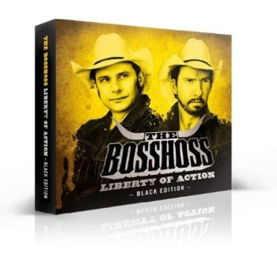 Bosshoss LIBERTY OF ACTION (DELUXE BLACK EDITION) CD