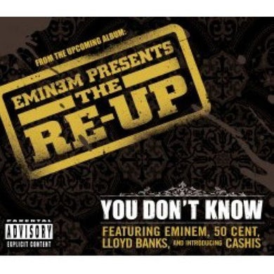 Eminem YOU DON'T KNOW Vinyl Record - UK Release