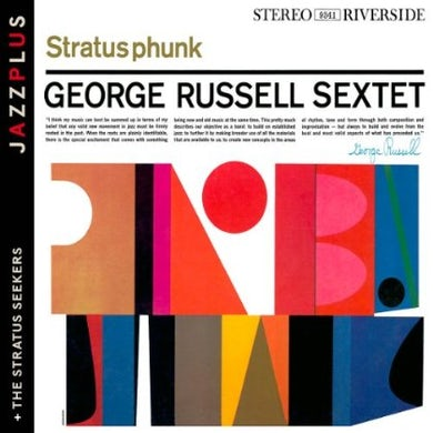 George Russell STRATUSPHUNK/STRATUS SEEKS CD