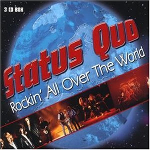 Status Quo ROCKIN ALL OVER THE WORLD (3CD BOX) CD