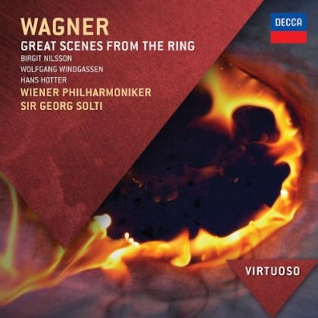R. Wagner GREAT SCENES FROM THE RIN CD