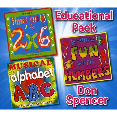 Don Spencer EDUCATIONAL BOXSET CD