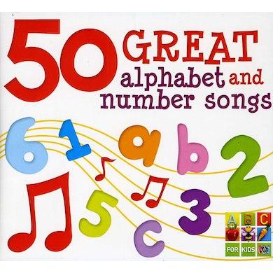 John Kane 50 GREAT ALPHA & NUMBER SONGS CD