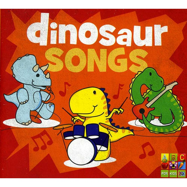 Juice Music DINOSAUR SONGS CD
