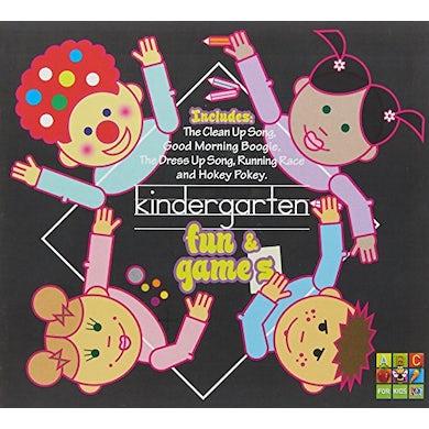 Juice Music KINDERGARTEN FUN & GAMES CD