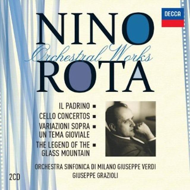 Nino Rota ORCHESTRAL WORKS CD