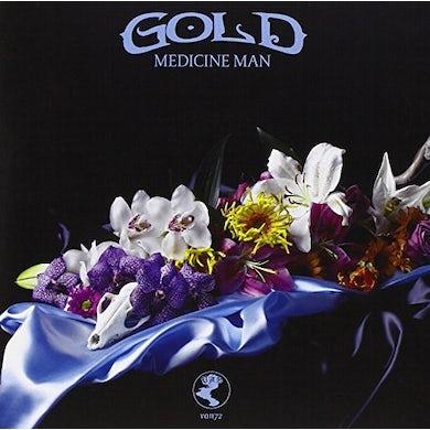 Gold GONE UNDER (COLOURED VINYL) Vinyl Record
