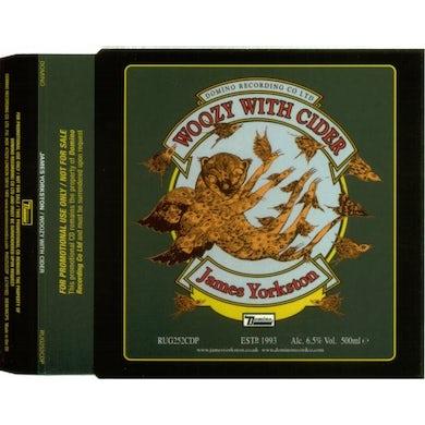 James Yorkston WOOZY WITH CIDER Vinyl Record