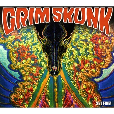 GRIMSKUNK SET FIRE! CD