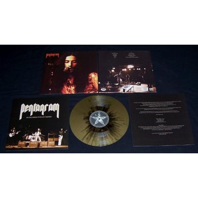 Pentagram IF THE WINDS WOULD CHANGE (GOLD-BLACK SPLATTER VIN Vinyl Record