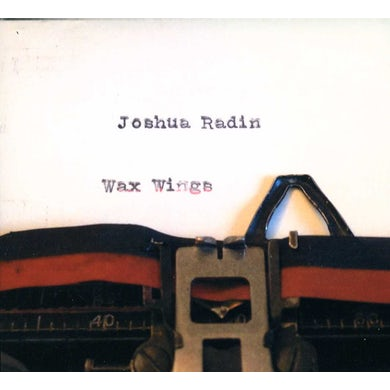 Joshua Radin WAX WINGS CD