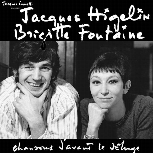 Brigitte Fontaine & Jacques Higelin CHANSONS D'AVANT LE DELUGE (FRA) (Vinyl)