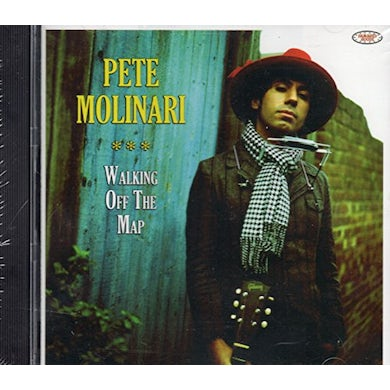 Pete Molinari WALKING OFF THE MAP CD