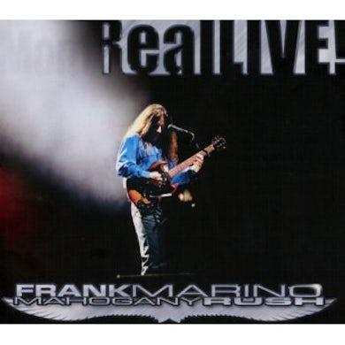Frank Marino & Mahogany Rush REAL LIVE! CD