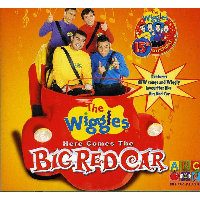 Wiggles HERE COMES THE BIG RED CAR CD