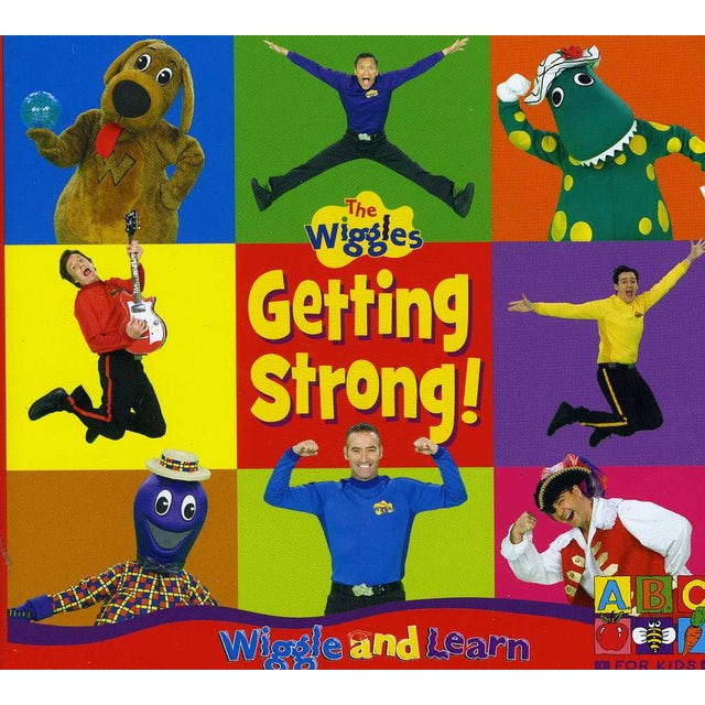 Wiggles LEARN & GETTING STARTED CD