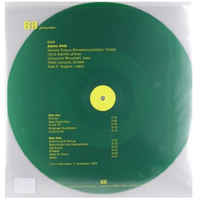 Amon Duul LIVE IN MUNCHEN 1969 Vinyl Record