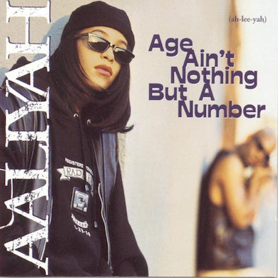 Aaliyah AGE AIN'T NOTHING BUT A NUMBER CD