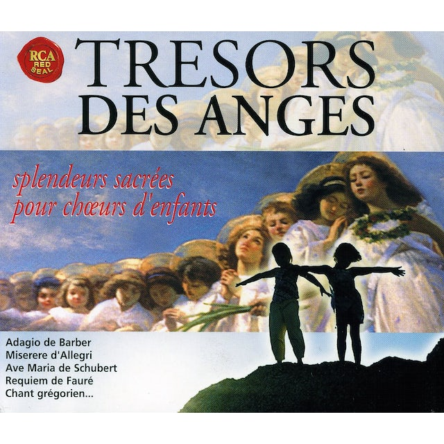 Choir Of Trinity College Cambridge TRESORS DES ANGES CD