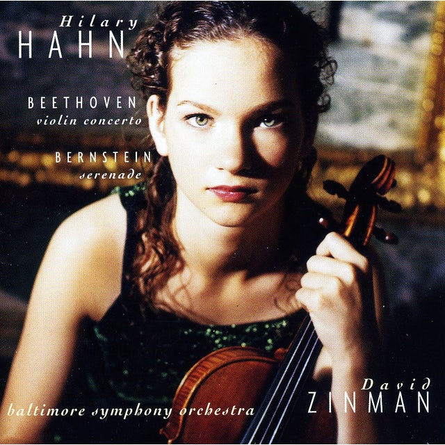 Hilary Hahn BEETHOVEN: VIOLIN CONCERTO BERNSTEIN S CD