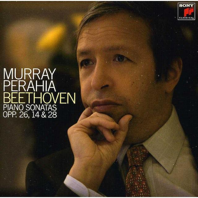 Murray Perahia BEETHOVEN: PIANO SONATAS OPP. 14 26 & 2 CD