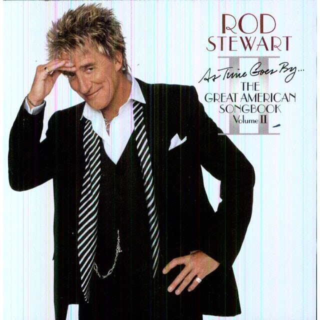 Rod Stewart AS TIME GOES BY THE GREAT AMERICAN SON CD