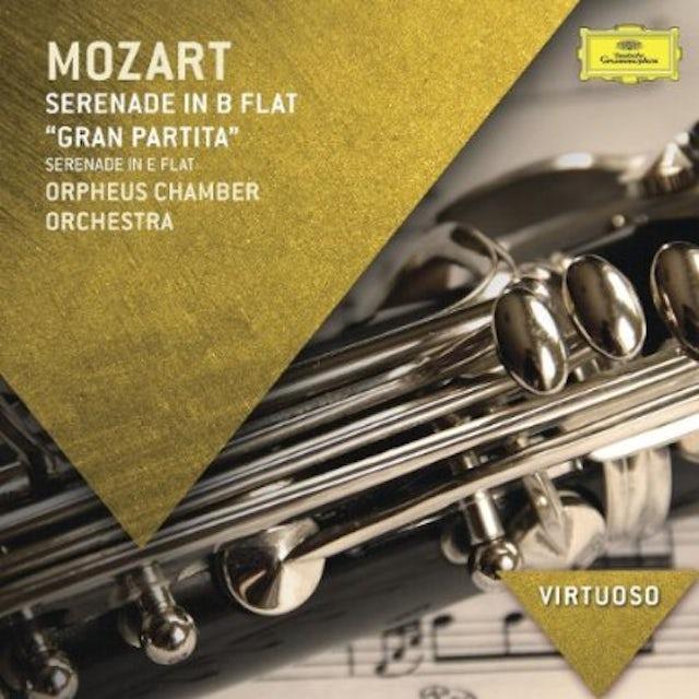 Orpheus Chamber Orchestra VIRTUOSO-MOZART: SERENADE IN B FLAT GRAN PARTITA CD