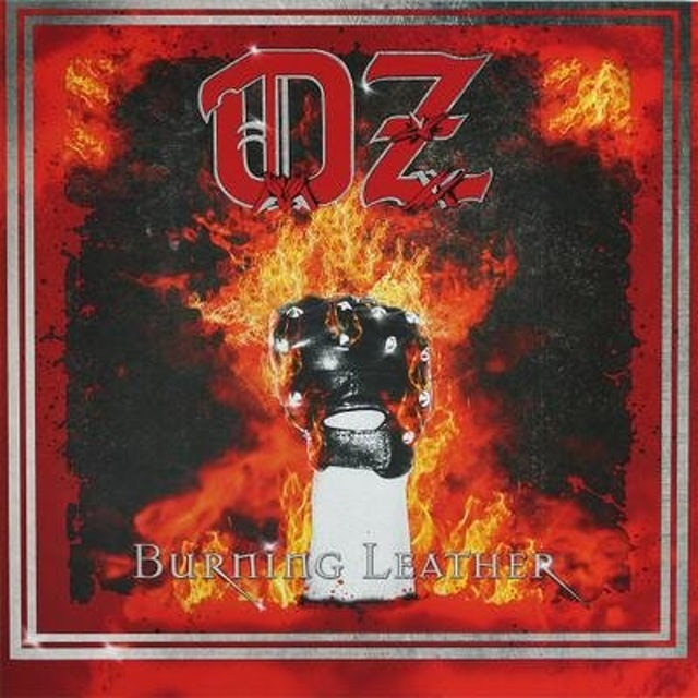 Oz BURNING LEATHER (GER) Vinyl Record
