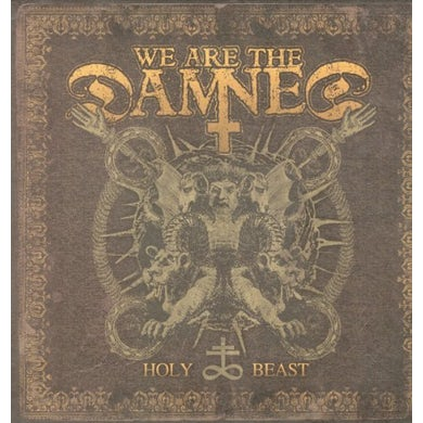 We Are The Damned HOLY BEAST Vinyl Record