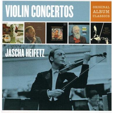 Jascha Heifetz ORIGINAL ALBUM CLASSICS CD