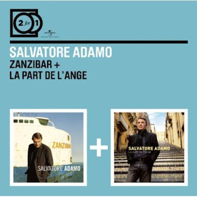 Salvatore Adamo ZANZIBAR/PART DE L ANGE CD