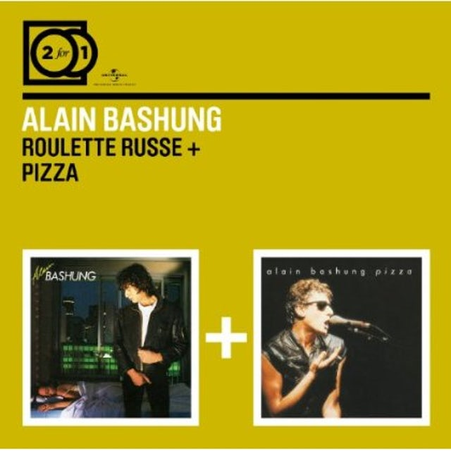 Alain Bashung ROULETTE RUSSE/PIZZA CD