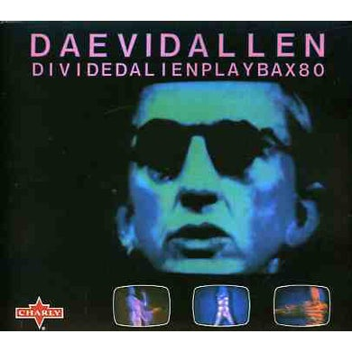 Daevid Allen DIVIDED ALIEN CD