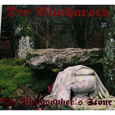 Der Blutharsch PHILOSOPHER'S STONE-RED Vinyl Record