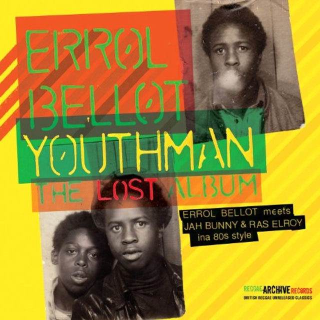 Errol Bellot YOUTHMAN-THE LOST ALBUM Vinyl Record