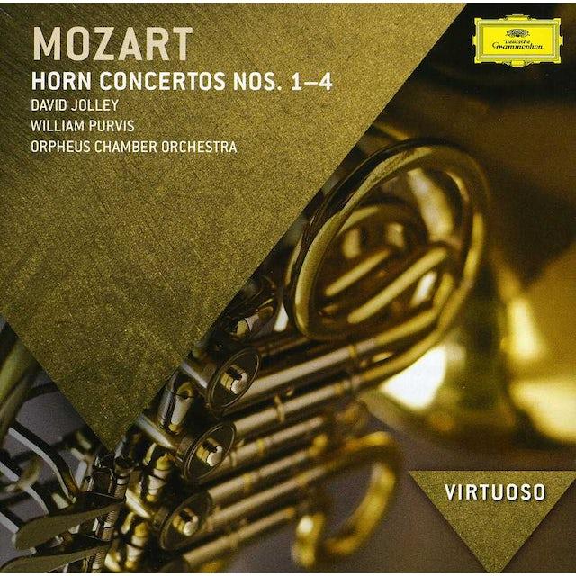 Orpheus Chamber Orchestra VIRTUOSO-MOZART: 4 HORN CONCERTOS CD
