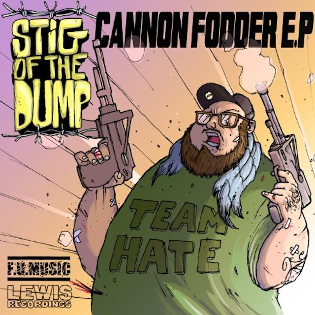 Stig Of The Dump CANNON FODDER EP CD