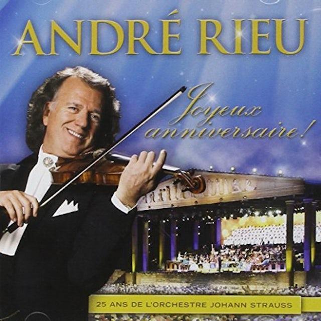 Andre Rieu JOYEUX ANNIVERSAIRE CD