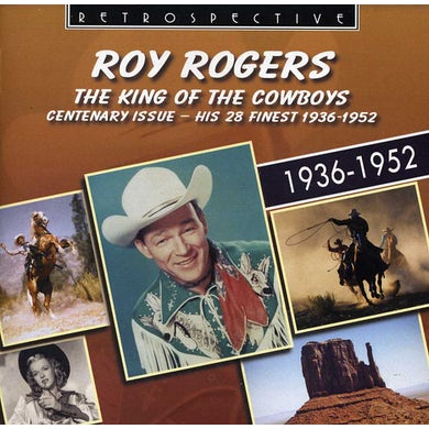 Roy Rogers KING OF THE COWBOYS CD