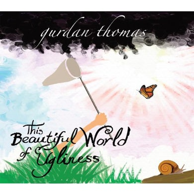 Gurdan Thomas THIS BEAUTIFUL WORLD OF UGLINESS+CD Vinyl Record
