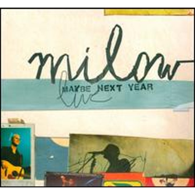 Milow MAYBE NEXT YEAR CD