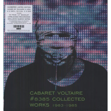Cabaret Voltaire 8385 COLLECTED WORKS 1983-85 Vinyl Record