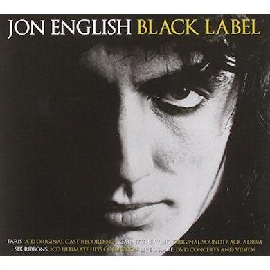 Jon English BLACK LABEL CD