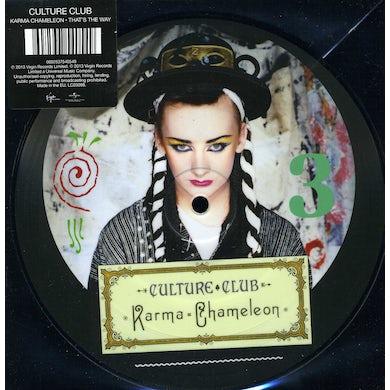 Culture Club KARMA CHAMELEON Vinyl Record