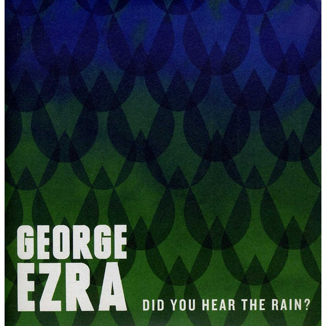 George Ezra DID YOU HEAR THE RAIN? Vinyl Record - Holland Release