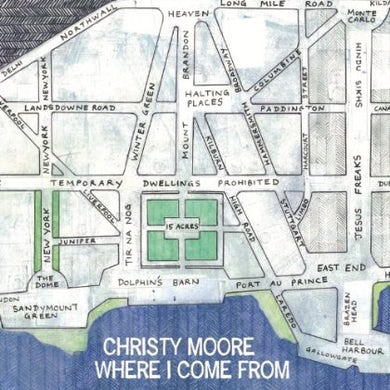 Christy Moore WHERE I COME FROM CD