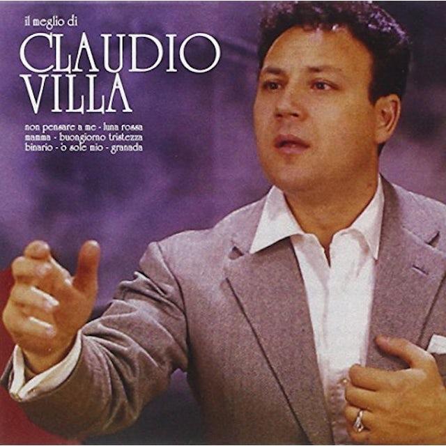 IL MEGLIO DI CLAUDIO VILLA CD