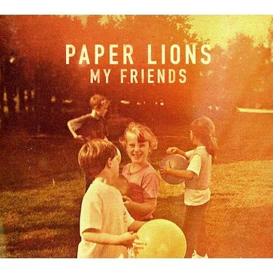 Paper Lions MY FRIENDS CD