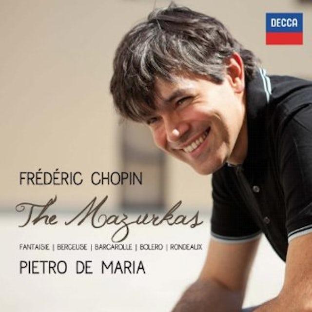 F. Chopin MAZURCHE/FANTASIA/BERCEUSE/BOLERO/RONDEAUX/BARCARO CD